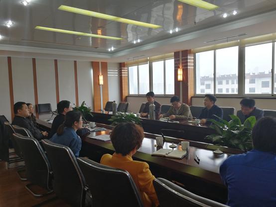 无锡市审计局走访江阴新长江实业集团公司指导内审工作